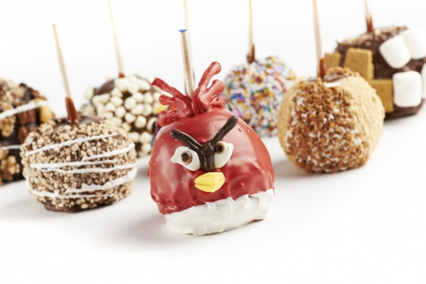 Candy apples yum!