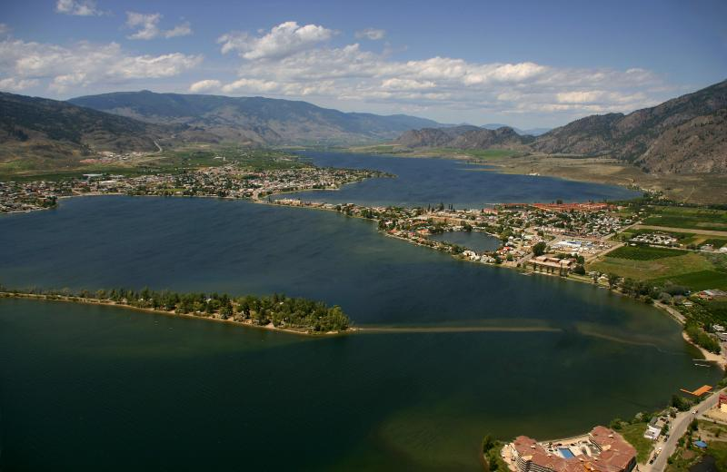 Osoyoos in the Okanagan