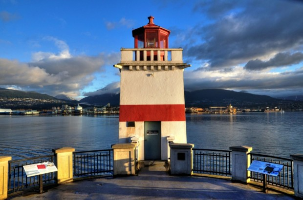 Lighthouse at Stanley Park