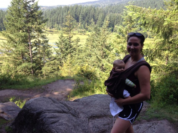 Baby and Me Low Knoll Minnekhada Park, Coquitlam