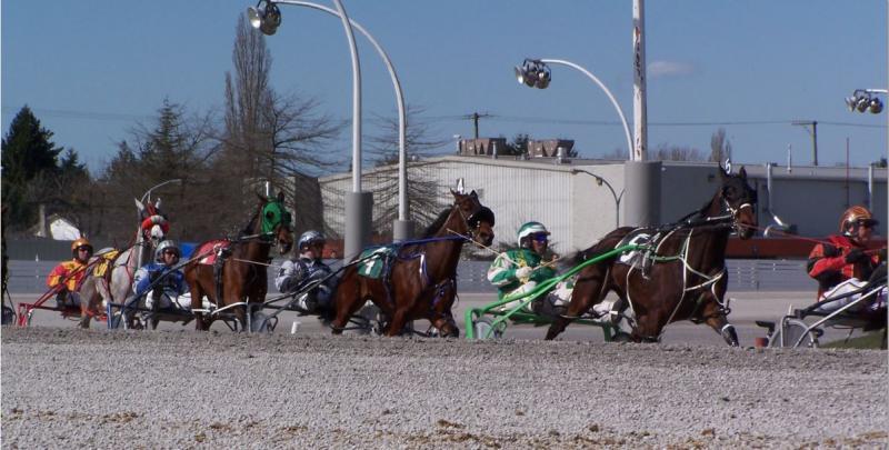 Horse Racing in British Columbia, Canada