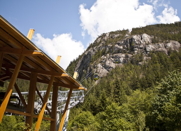 Squamish Gondola by The Chief