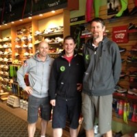 Staff at Runners Den, Port Moody