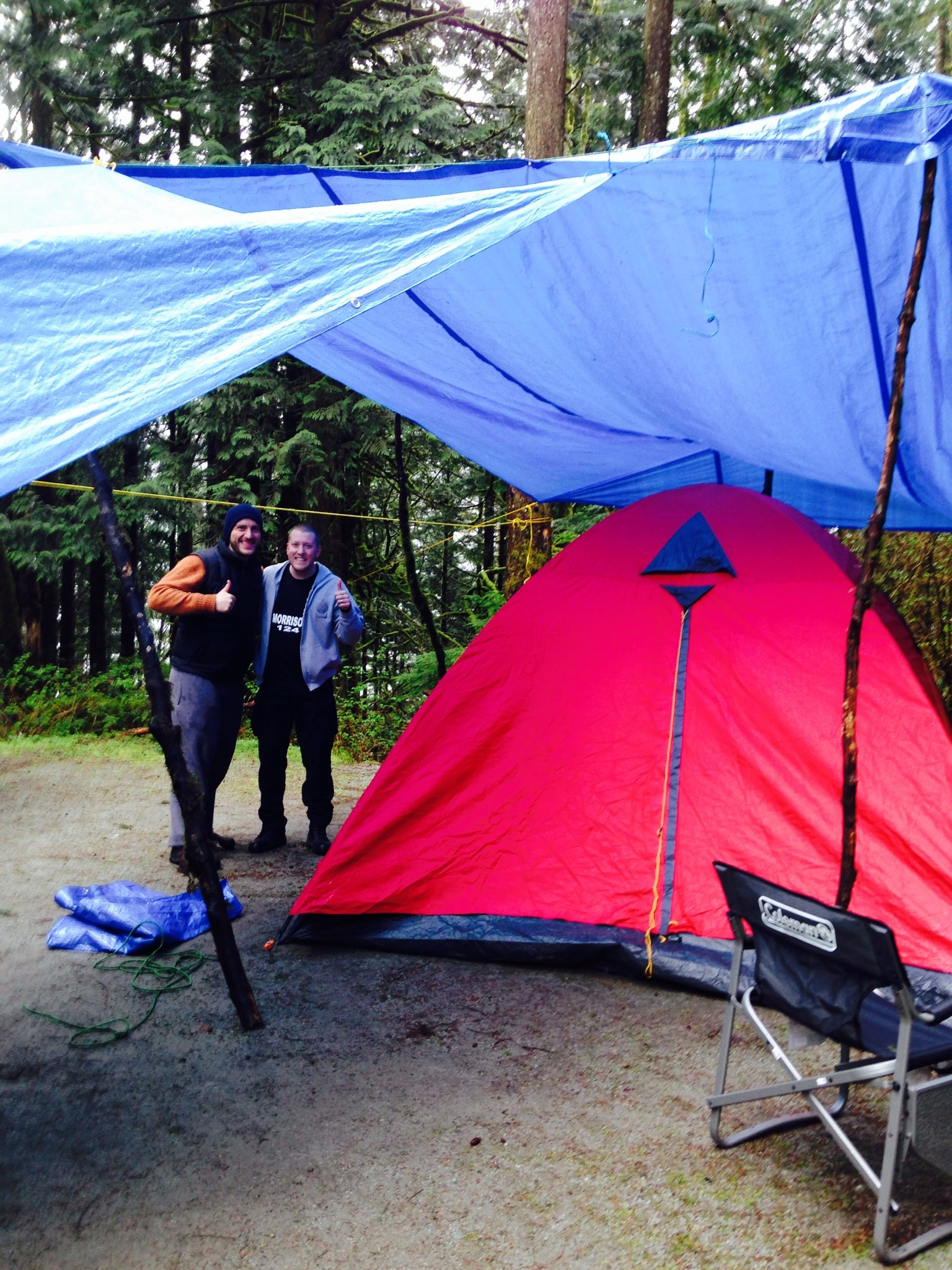 Adventures in Waterproofing for Camping in British Columbia