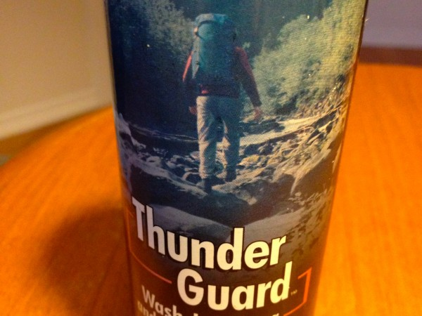 Waterproofing Thunder Guard