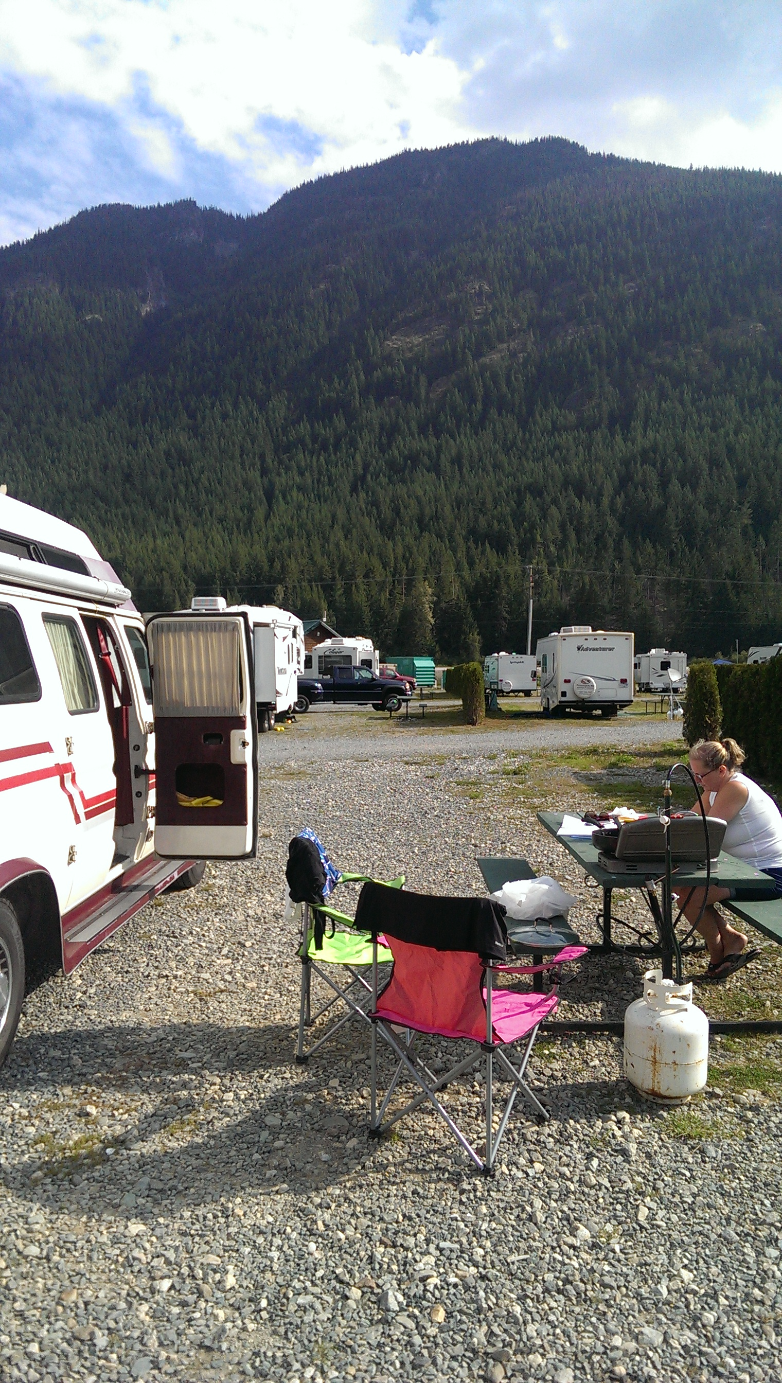 Sunshine Valley RV Resort, British Columbia – Circle Tour Day 1