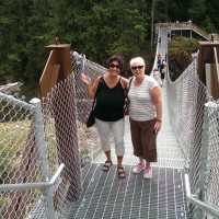 Suspension Bridge Elk Falls