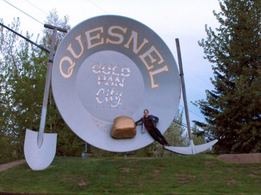 Largest Gold Pan in Quesnel