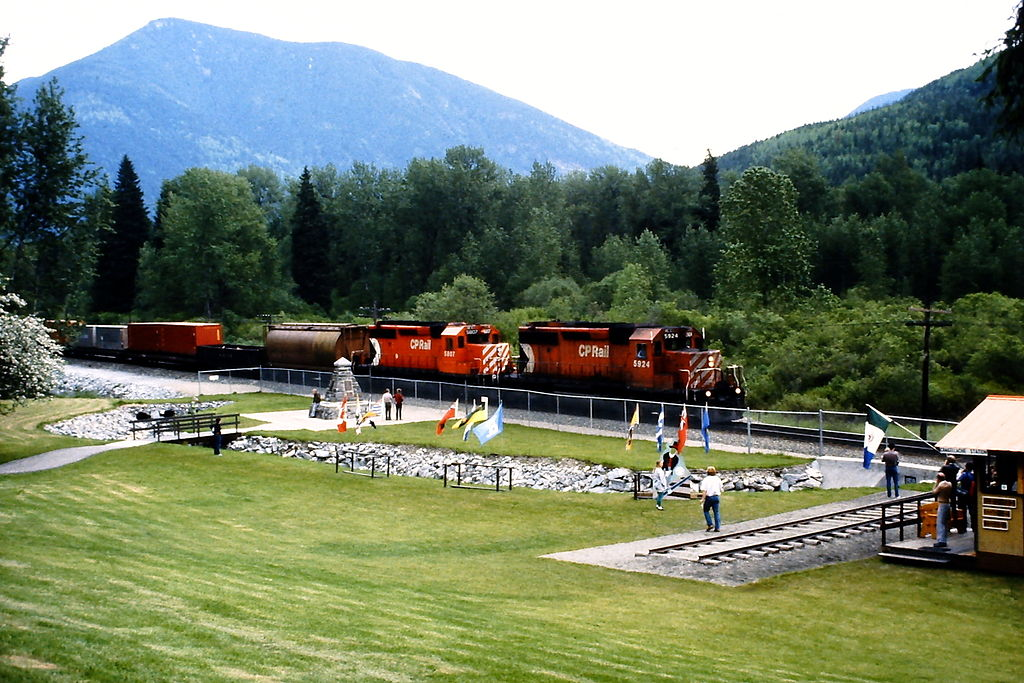 Train Spotting: Highway 1 Lytton to Craigellachie, British Columbia, Canada