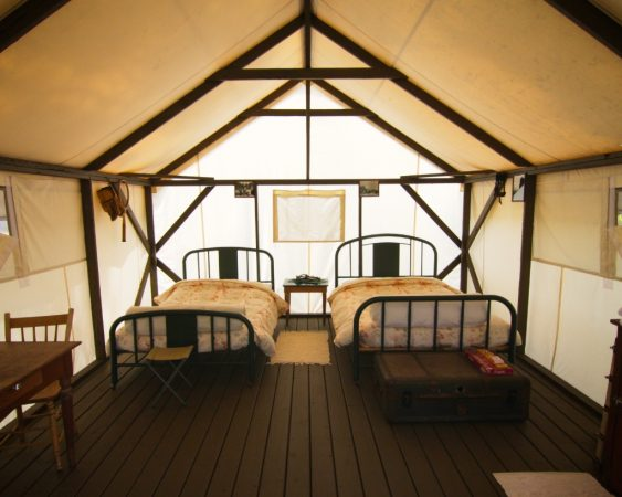 Kumsheen Resort Yurt