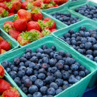 Berries at Creston Valley Farmers' Market