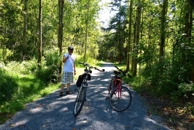 Bicycle Trail in Campbell Valley Park