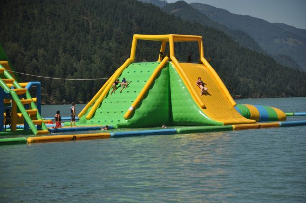 Harrison Floating Water Park - Tourism Harrison