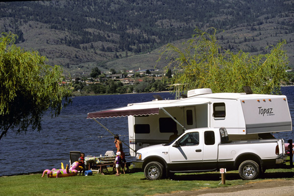 Camping in the Okanagan