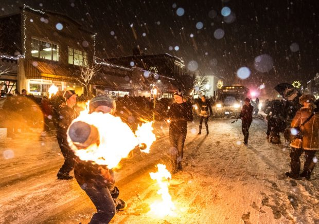 Rossland Winter Carnival | Photo Ryan Flett via Facebook