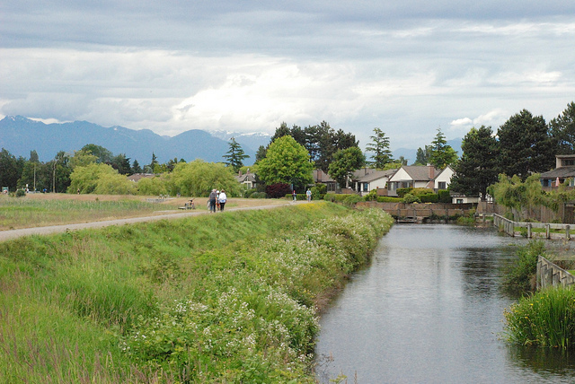 West Dyke Trail in Richmond. Photo: Jean Francois Chenier via Flickr
