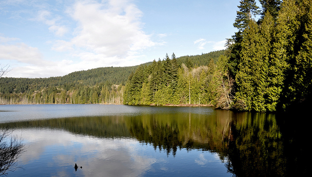 Killarney Lake on Bowen Island. Photo: Alexis Chmiel via Flickr