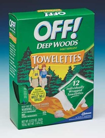 Off Repellent Towelettes
