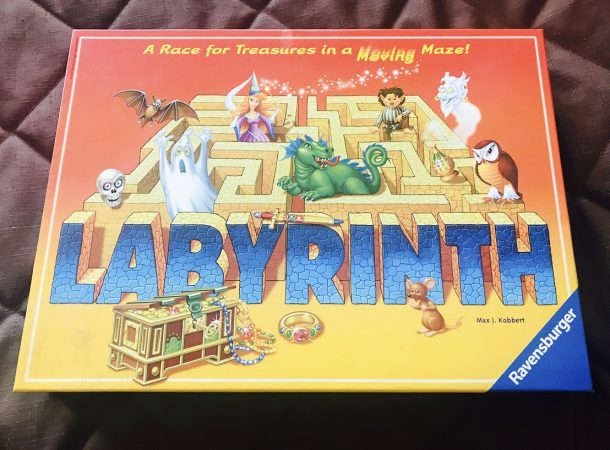 Labyrinth Board Game
