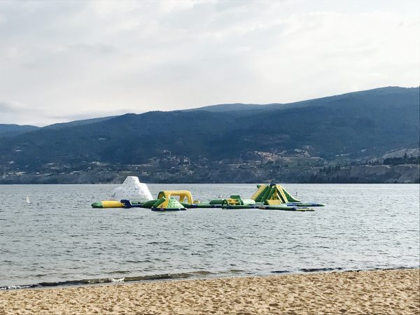 Okanagan Lake Wibit Inflatable Playground