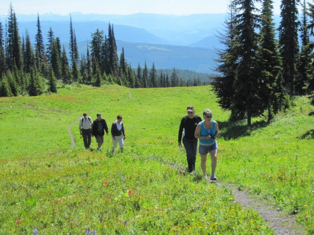 Hiking Silver Star Mountain in the Summer
