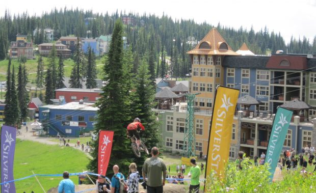 Mountain Biking at Silver Star