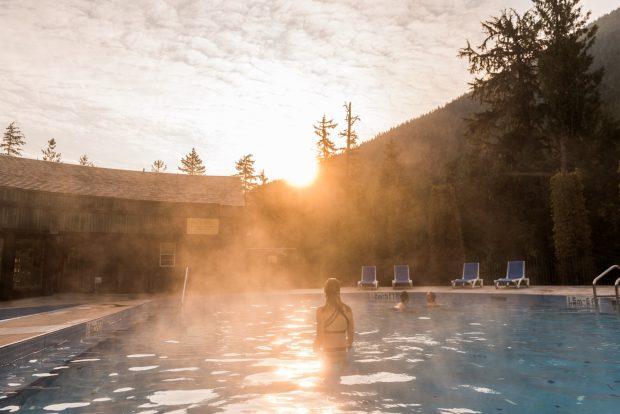 Nakusp Hot Springs, Photo Destination BC Kari Medig