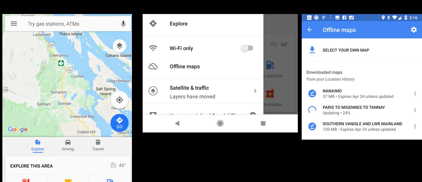 How to Use Google Maps Anywhere Without Using Data! | Travel British Does Using Google Maps Use Data on