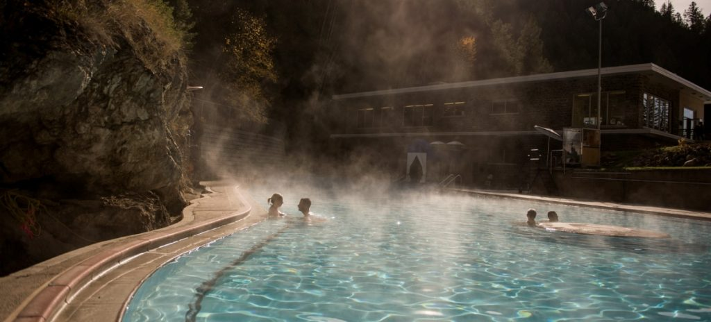 Radium Hot Springs, Photo Destination BC Kari Medig