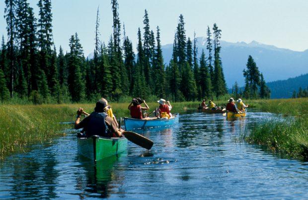 Bowron Lake, Cariboo. Photo BC Parks