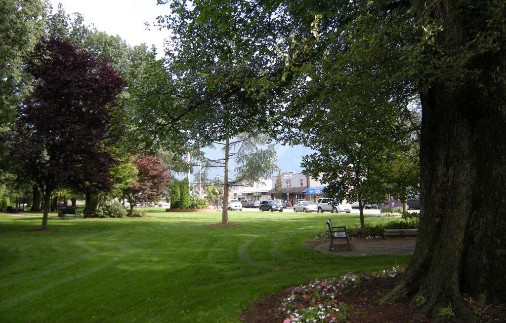 Pioneer Park in Agassiz BC