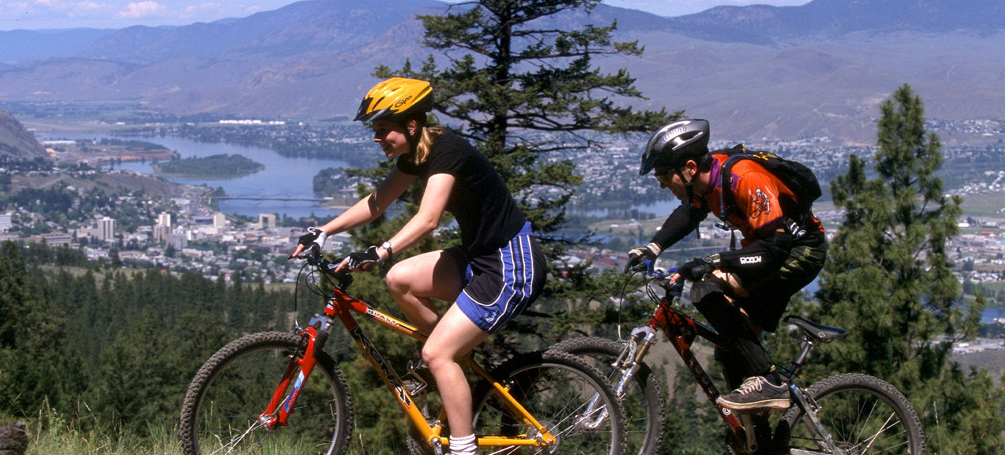 Biking near Kamloops - Don Weixl - TOTA