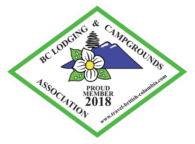 BC Lodging and Campgrounds Association Decal