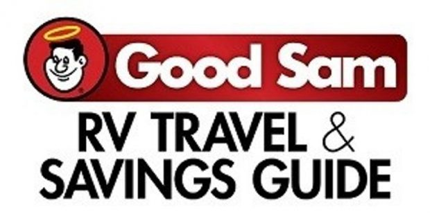 Good Sam RV Travel & Savings Guide Logo