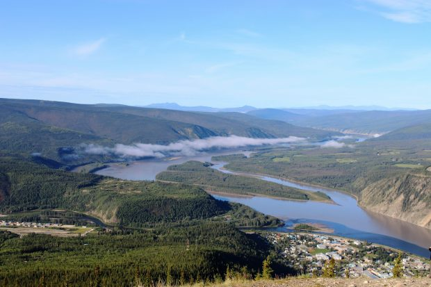 Dawson City in the Yukon Territory