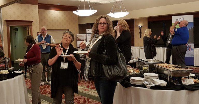Members Attending Table Top Show, Kelowna, BC - Photo Anne P