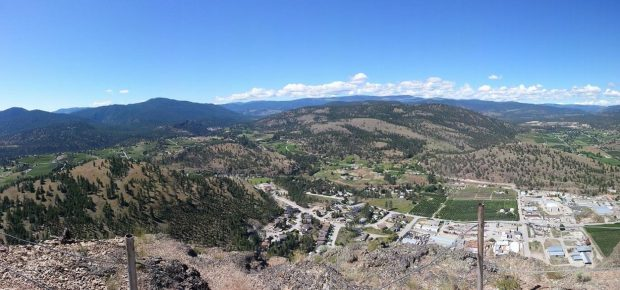 Summerland from Giant's Head Mountain | Kim Cambell-Walker