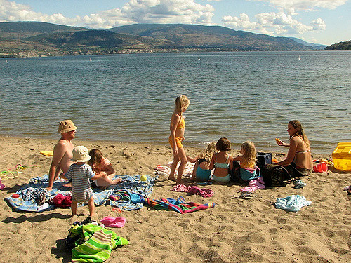 Sun Oka Beach, Summerland, Jeremy Hiebert via Flickr