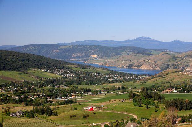 Coldstream Valley and Kalamalka Lake, Okanagan Photo Province of BC