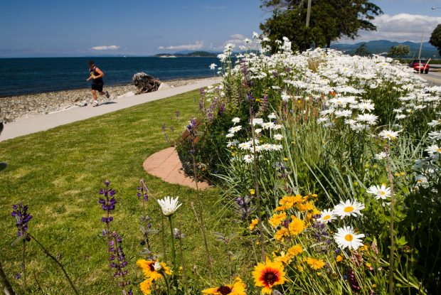 Davis Bay Seawall, Sechelt Photo Province of BC