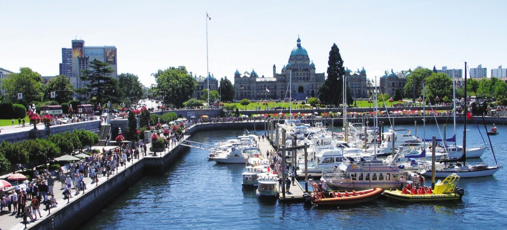 Legislature and Museum Victoria Harbour