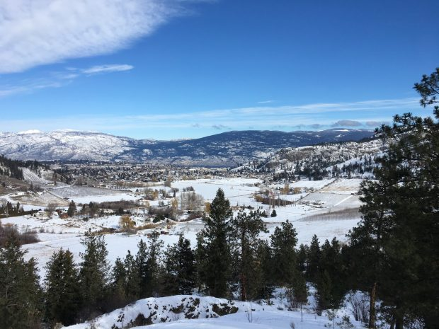 Summerland from the Trans Canada Trail