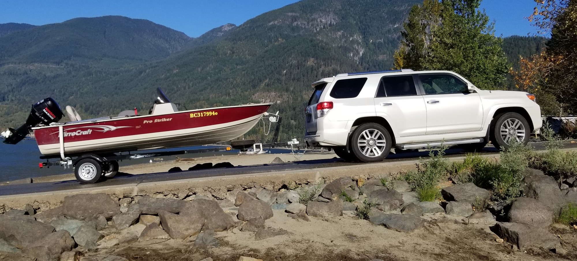 Boat Ramp Kilby Campground - J Penny