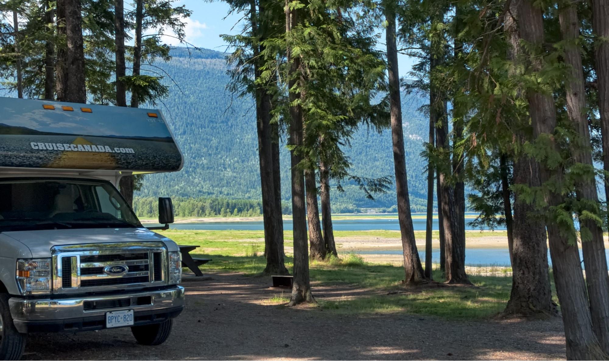 Super Camping British Columbia Mobile App