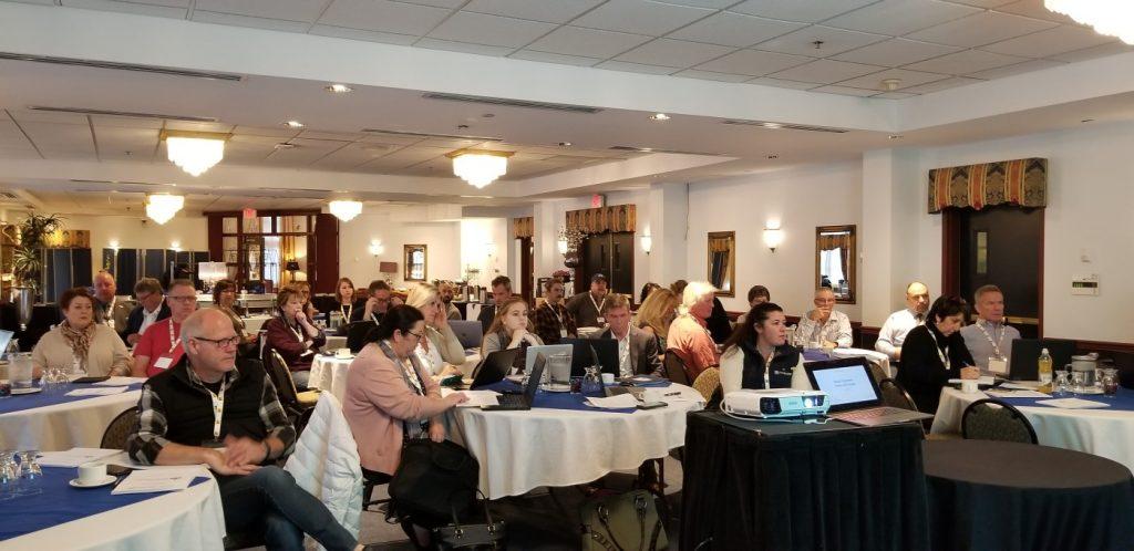 Members Attending Session, Nanaimo, BC - Photo Joss P