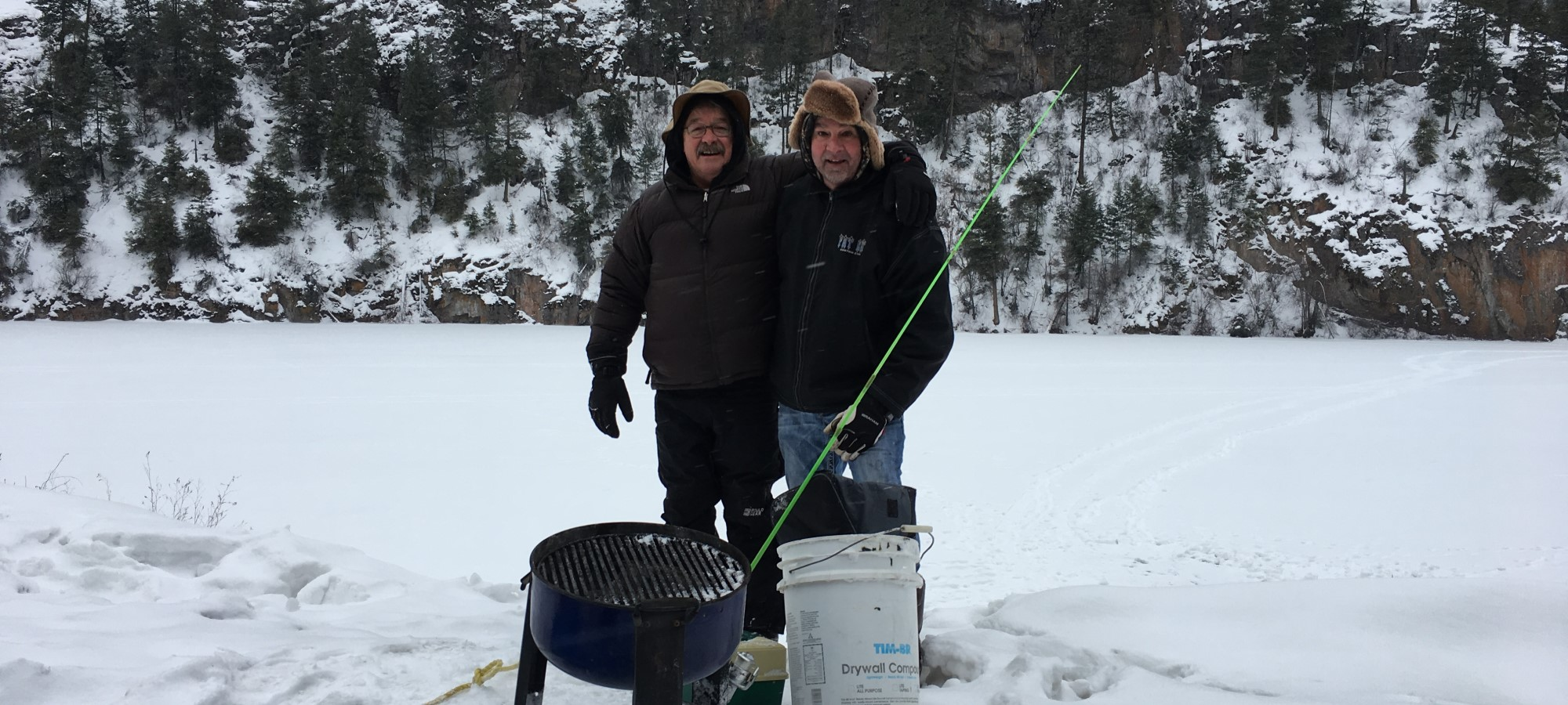 Get Hooked on Ice Fishing at Yellow Lake Near Penticton, BC