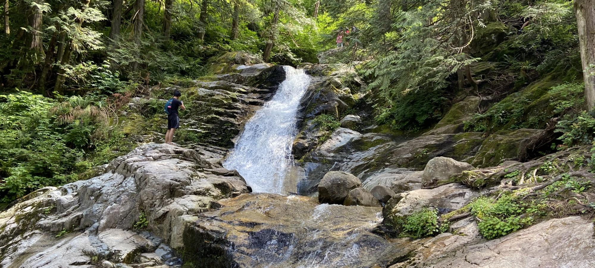 Crystal Falls, Coquitlam, British Columbia