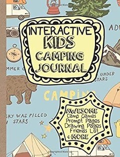 Interactive Kids Camping Journal