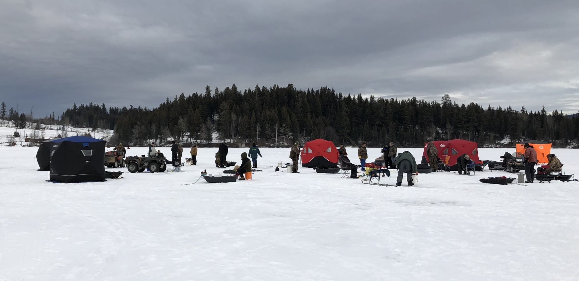 Top Picks for Ice-Fishing and Winter Camping in British Columbia's Thompson-Nicola Region