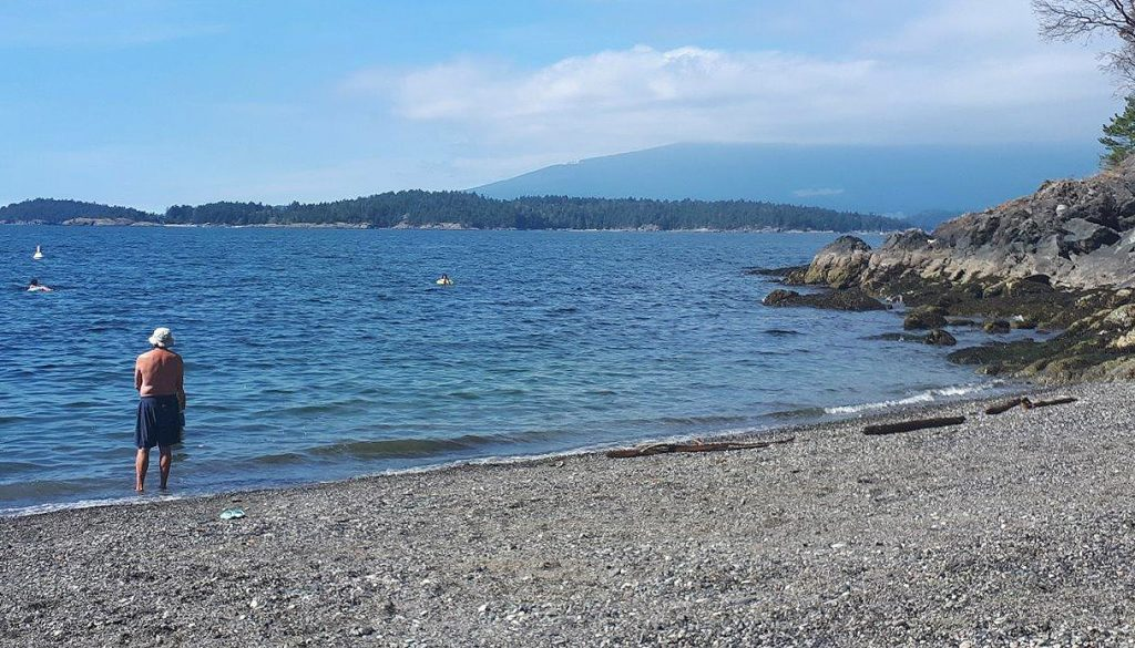 Bowen Island is dotted with pretty beaches